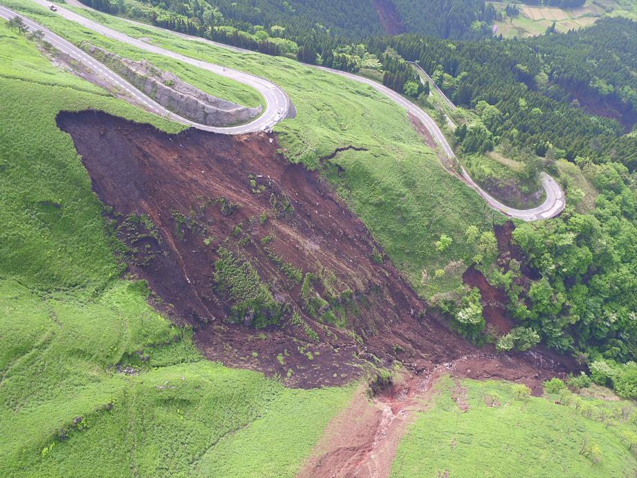 熊本地震の爪痕